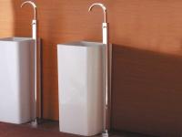 Waschbecken-Standarmaturen Terlago-100 von Bädermax