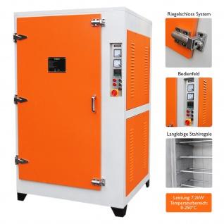Elektrostatischer Pulverofen Härtungsofen Einbrennofen Pulverbeschichtungsanlage für Pulverbeschichtung Bearbeitungsmaschine