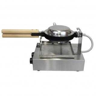 KuKoo Profi Waffeleisen Gastro-Waffeleisen Waffelautomat mit Gratis Waffelzange - Vorschau 2