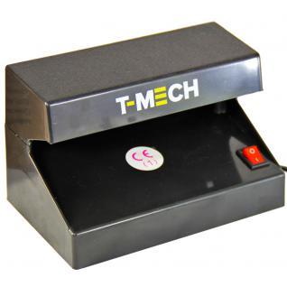 T-Mech 4 Watt UV Licht Geldscheinprüfer Prüfgerät Banknotenprüfgerät Prüfgerät für Geldscheine Geldscheinprüfmaschine + Gratis Falschgeld-Prüfstift + 2 Gratis UV Ersatzlampen