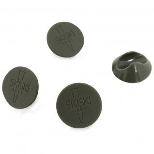 4 x Hairpin Leg Bodenschützer Bodenschutz Schutz Tischbeine Haarnadelbeine Möbelgleiter SKISKI Legs -Grau