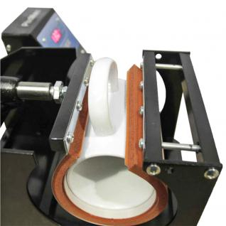PixMax 5-in-1 Tassenpresse Sublimationspresse Transferpresse Hitzepresse Gratis Sublimationspapier Gratis hitzebeständiges Klebeband - Vorschau 4