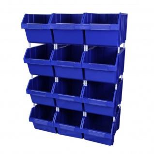 Lagerkästen Lagerboxen Stapelkisten Stapelkiste Kunststoff Verpackung Aufbewahrungsbox aus Kunststoff Transportbehälter Sichtlagerkasten Aufbewahrungsbehälter Aufbewahrungsbox Sichtlagerkasten Palettenbox Lager Kästen Boxen
