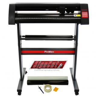 PixMax 720mm Vinyl Schneideplotter Plotter Folienplotter Starter Set & Weeding Pack mit Zubehör