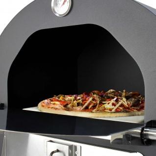 KuKoo Outdoor Pizzaofen Pizza Ofen Gartenofen Steinbackofen Smoker Grill 156 cm H x 64 cm B x 43 cm T Gratis Pizza Schieber - Vorschau 5