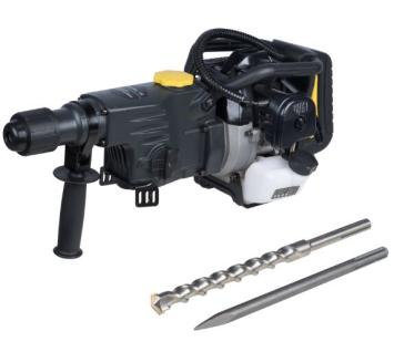 T-Mech Elektrischer Bohrhammer Bohrmaschine Schlagbohrhammer Schlaghammer Schlagbohrer 37.7cc