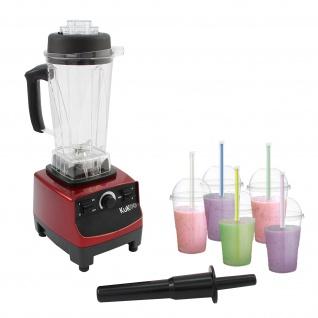 KuKoo Gastro Mixer Standmixer Hochleistungsmixer Smoothie Maker Milkshake Maker Mixen