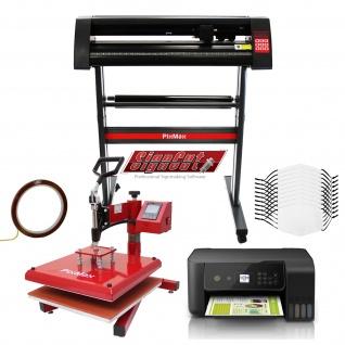 10 Gesichtsmasken, Schwingpresse, Eco Tank Drucker, Schneideplotter & Signcut Pro