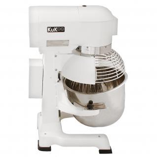 Gastro 20L Planetenrührmaschine Spiral Rührmaschine Teigknetmaschine Knetmaschine Rührwerk Küchenmaschine Gratis Knetaufsätze + Teigschaber - Vorschau 2