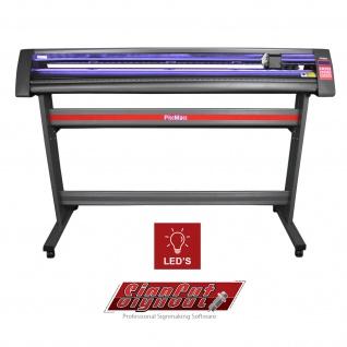 1350mm Vinyl Schneideplotter mit LED Folienplotter Schneideplotter Plotter inklusive 3 x Roland-Messer SignCut Software