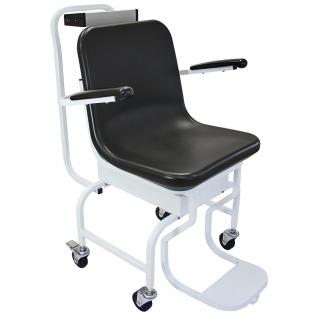 T-Mech Digitale Stuhlwaage Digitalstuhlwaage elektronische Stuhlwaage zum wiegen im Sitzen Sitzwaage Personenwaage bis 200kg