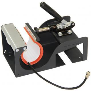 PixMax Multifunktion 5-in-1 Kombi Transferpresse mit Vinyl-Schneideplotter Folienplotter und Zubehör - Vorschau 3