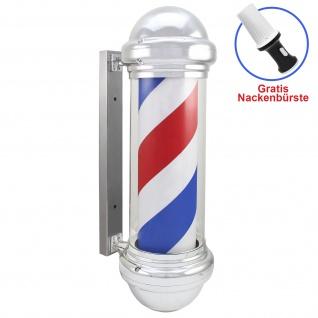 Friseurstange LED Barberpub Barbierstab klassisch weiß blau rot Barber Pole