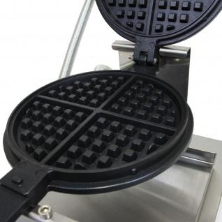 KuKoo Profi Waffeleisen Gastro-Waffeleisen Waffelautomat mit Gratis Waffelzange - Vorschau 3