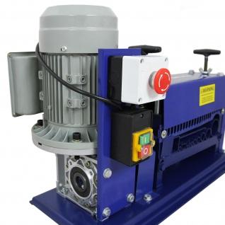 Automatische Kabelschälmaschine Abisoliermaschine Kabelabisoliermaschine Kabel Schneidzange Drahtschneidemaschine Kabelisolierer elektrisch   380W/0.5 PS   38 mm - Vorschau 2