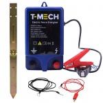 T-Mech Elektrisches Weidezaungerät Elektrischer Zaun Elektrozaun Agrartechnik bis zu 10, 000V Abmessungen: 187mm (H) x 114mm (B) x 53mm (D)