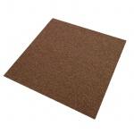 20 Stück Teppichfliesen Bodenfliesen Teppich 50 x 50 cm für 5 m² Sandfarbend