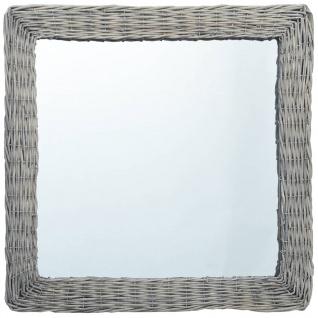 vidaXL Spiegel 50x50 cm Weide