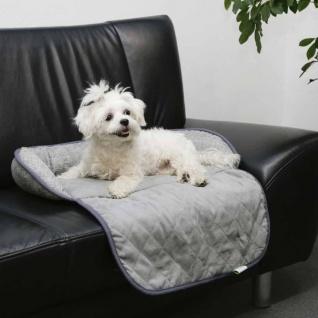 Kerbl Hunde-Couchkissen Emalia 98 x 66 x 12 cm Grau 80375 - Vorschau 2