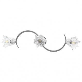 vidaXL Deckenleuchte mit Glasschirmen für 3 E14 Glühlampen - Vorschau 5