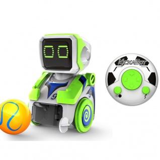 Silverlit ferngesteuerter Roboter KickaBot Grün SL54099