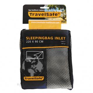 Travelsafe Schlafsack Inlett Deckenform Seide TS0311
