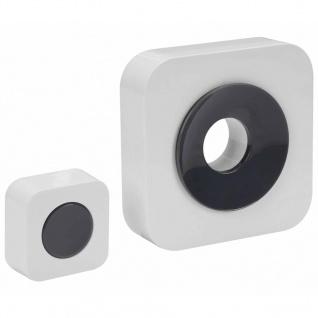 Perel Funk-Türklingel Batteriebetrieben Weiß EDB8