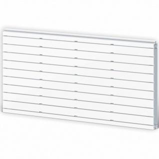 iWALLZ Frontplatte Weiß 62, 5 x 31, 5 x 3 cm i8002