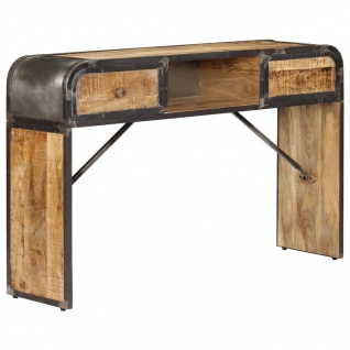 vidaXL Sideboard 120 x 30 x 75 cm Mango-Massivholz
