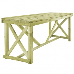 vidaXL Gartentisch 160×79×75 cm Holz