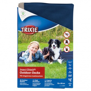 TRIXIE Outdoor Decke Insect Shield 70 x 50 cm Dunkelblau 28562 3