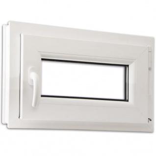 Dreifach Verglast PVC Drehkippfenster+Griff (linke Seite) 600x400mm