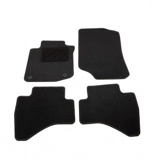 vidaXL Autofußmatten-Set 4-tlg. für Peugeot 107
