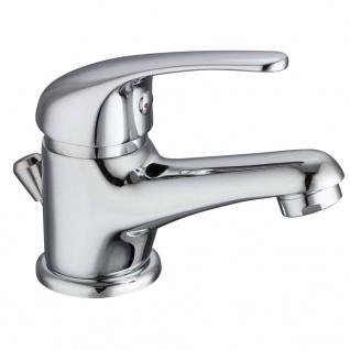 SCHÜTTE Mischbatterie für Waschbecken ATHOS PLUS Verchromt