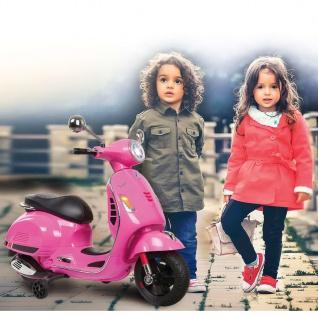 Jamara Motorroller Vespa GTS 125 Rosa 12 V