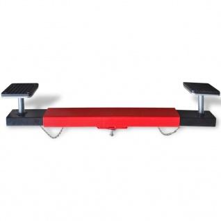 vidaXL Querträger für Wagenheber 2 Tonnen Rot