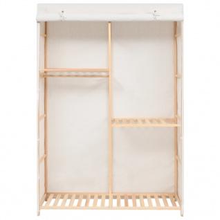 vidaXL Kleiderschrank mit 3 Ebenen 110 x 40 x 170 cm