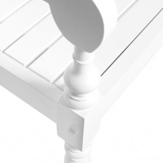 vidaXL Batavia-Stühle 2 Stk. Weiß Mahagoni Massivholz - Vorschau 5