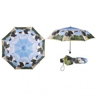 Esschert Design Faltbarer Regenschirm Kuh TP157