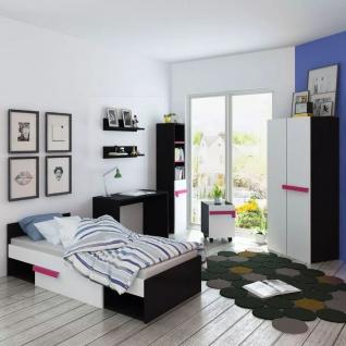 vidaXL Siebenteiliges Kinderschlafzimmer-Set Pink