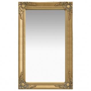 vidaXL Wandspiegel im Barock-Stil 50 x 80 cm Golden