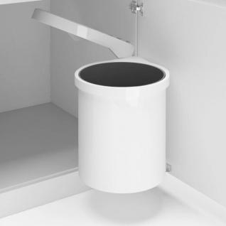 vidaXL Küchen-Einbau-Mülleimer Kunststoff 12 L