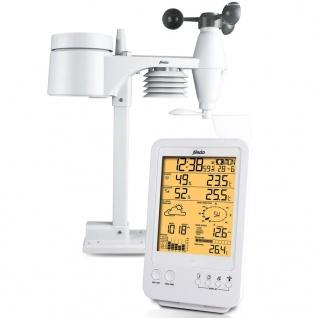Alecto Drahtlose Wetterstation WS-4800 Weiß