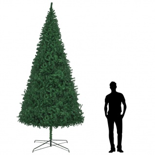vidaXL Künstlicher Weihnachtsbaum 400 cm Grün