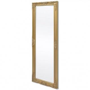vidaXL Wandspiegel im Barock-Stil 140x50 cm Gold