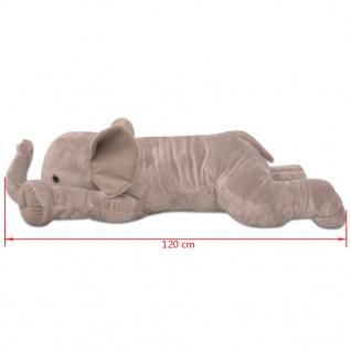vidaXL Kuscheltier Elefant XXL 120 cm - Vorschau 4