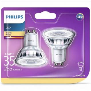 Philips LED-Lampen 2 Stk. Classic 3, 5 W 255 Lumen 929001217831