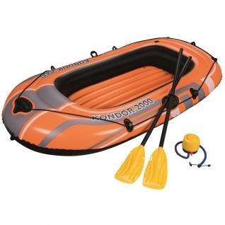 Bestway Schlauchboot-Set Kondor 2000 Set 188x98 cm 61062
