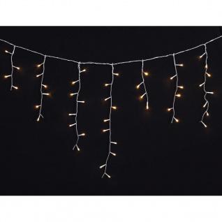 LED Eiszapfen Lichterkette 7, 8 x 0, 5 Meter wasserdicht