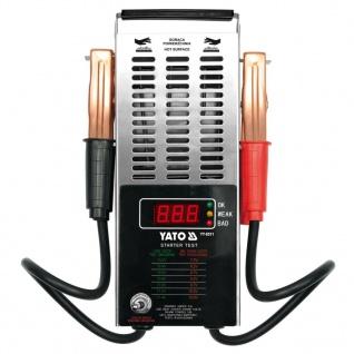 YATO Digitaler Batterietester 12 V
